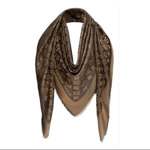 Louis Vuitton Accessories - Louis Vuitton Brown Monogram Shine Shawl